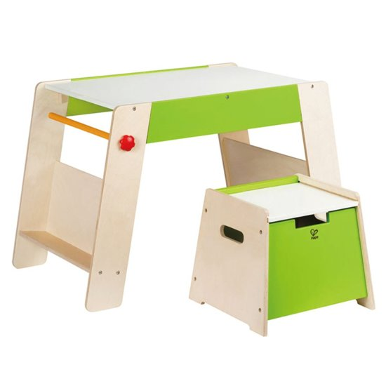 Kindertafel En Stoel Met Opbergruimte.Bol Com Hape Kindertafel En Stoel Toepasbaar Met