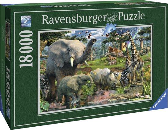 Ravensburger Puzzel - Wildlife