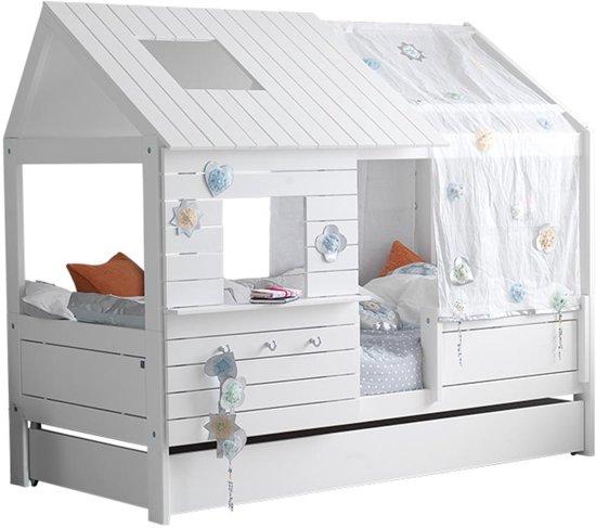 Lifetime Silverparkle - Bed - Wit - 102 x 207 cm