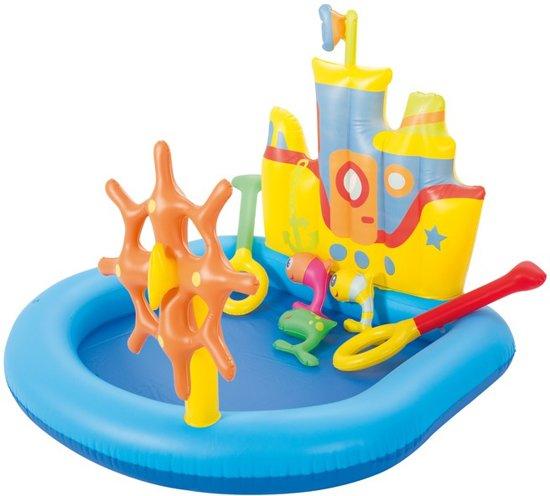 Kinderzwembad Boot (140 x 130 cm)