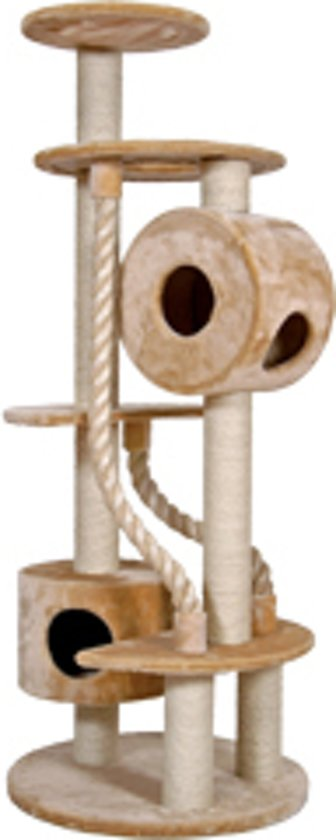 Nobby krabmeubel yuma pluche en sisal beige 75 x 190 cm - 1 st