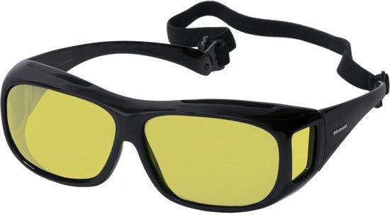 3fc900230d0855 Polaroid® XL Night Hawk Overzetzonnebril Avondbril Winterbril Slecht Weer  Bril Nachtlenzen