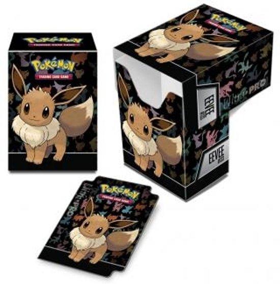 Afbeelding van het spel Pokemon deckbox Eevee