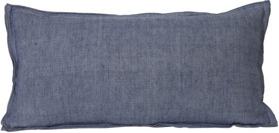 4e51138e93378b bol.com | Kussen 60x30 cm FLANGE grijs-blauw 1