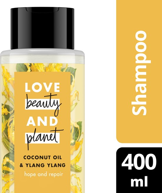 Love Beauty and Planet Shampoo Hope and Repair - 400 ml - Coconut Oil & Ylang Ylang