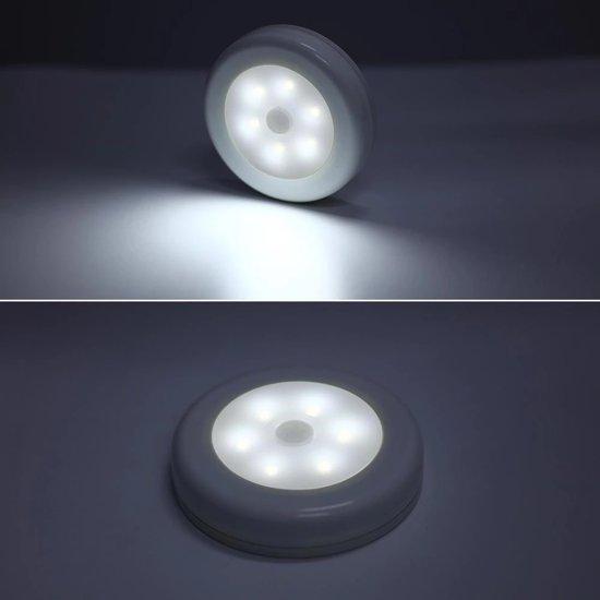 Automatische Led Verlichting Met Bewegingssensor Voor In Kast Trap Hal Slaapkamer Etc Zilver