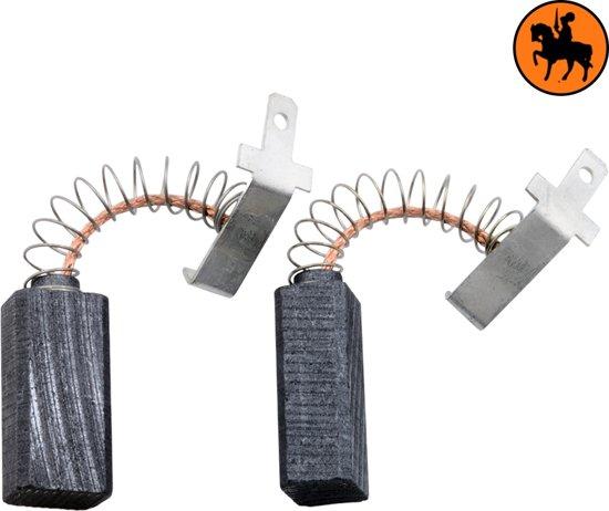 Koolborstelset voor Black & Decker BD85A - 6x8x16,5mm - Vervangt 917287