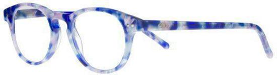 79cfe1943a4b99 Icon Eyewear KCE802 Goldline Leesbril +2.00 - Blauw gemêleerd - Acetaat