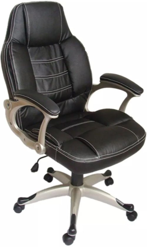 vidaXL - Bureaustoel Bureaustoel Manager R125 zwart
