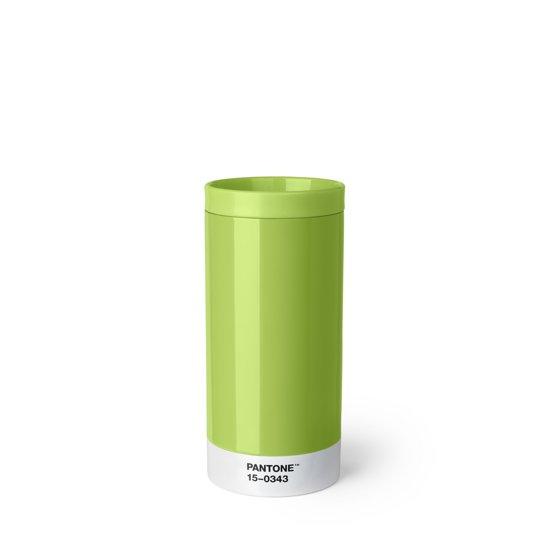 Pantone Drinkbeker - To Go - RVS - 430 ml - Green 15-0343