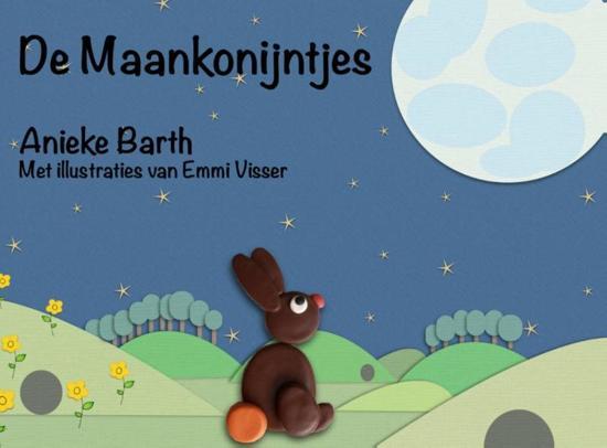 Cover van het boek 'De Maankonijntjes' van Anieke Barth