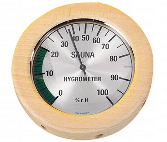 Hygrometer rond groot