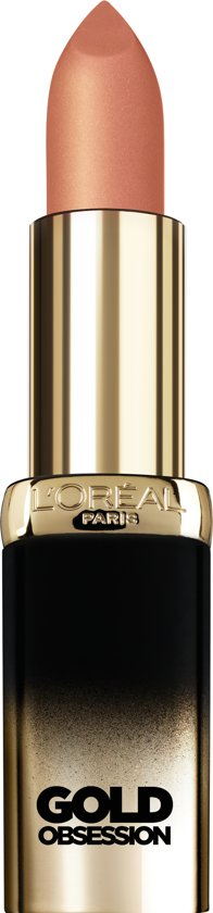 L'Oréal Color Riche Gold Obsession Lipstick - Nude Gold