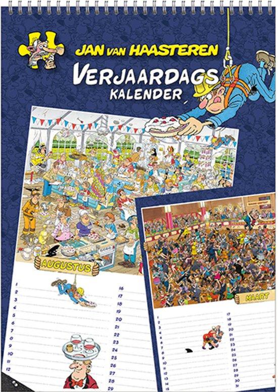 Jan van Haasteren Verjaardagskalender (A4)