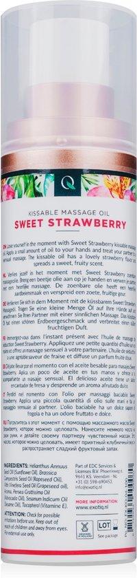 Exotiq Massageolie Sweet Strawberry - 100 ml