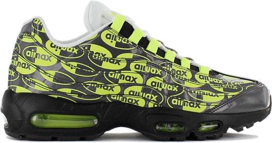 Nike Air Max 95 All Over Print Volt + Black + White