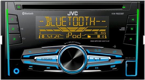 JVC KW-R920BT - Autoradio dubbel DIN - USB - CD - Bluetooth