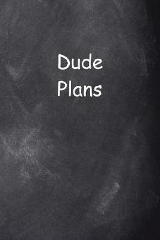 2019 Weekly Planner for Men Dude Plans Chalkboard Style
