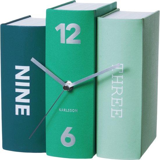 Karlsson Books - Klok - Karton - 19x19 cm - Groen