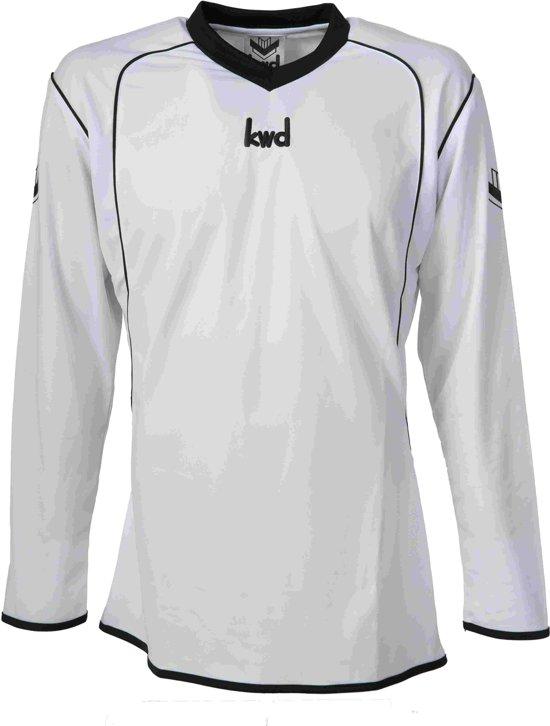 KWD Sportshirt Victoria - Voetbalshirt - Volwassenen - Maat M - Wit/Zwart