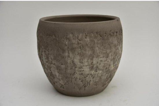 Lars Potten Serie - Pot Lars Taupe 22x20cm