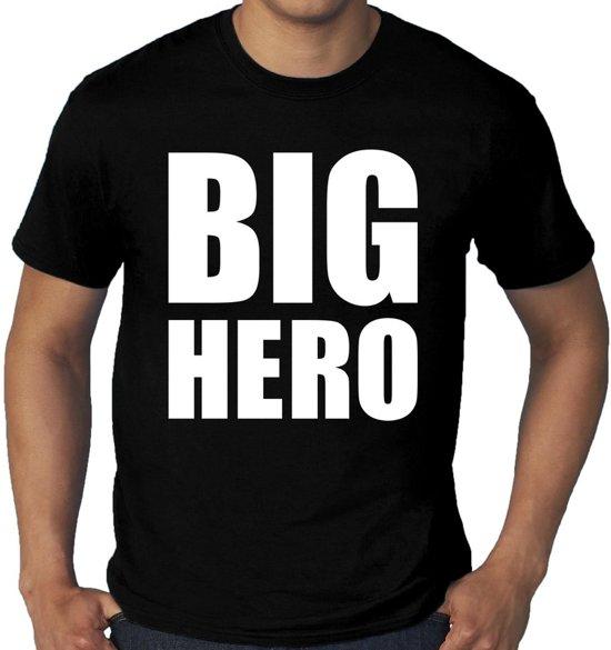 Grote 3xl Hero Heren Shirt Maten T Zwart Big pUaRSU