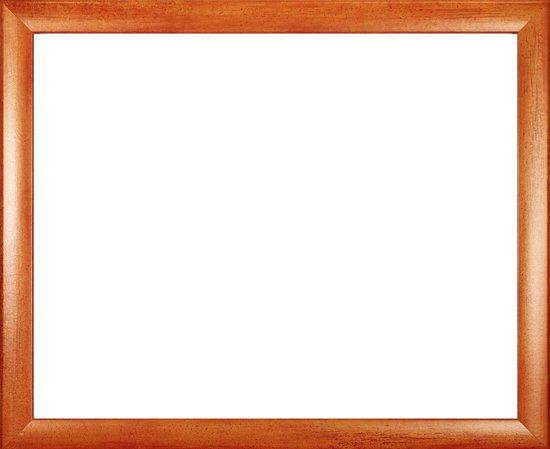 Homedecoration Colorado – Fotolijst – Fotomaat – 25 x 61 cm – Oranje geborsteld