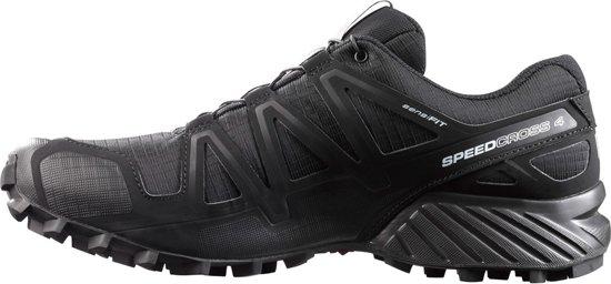 b3e4f1a5cef bol.com | Salomon Speedcross 4 Sportschoenen Heren - Black/Black/Black  Metallic