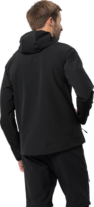 Softshell Zwart Men Point Jacket Jack Heren Kanuka Wolfskin xawqwO6