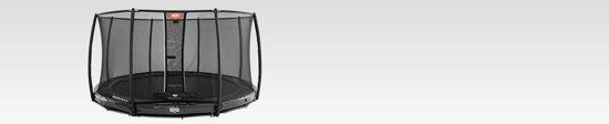 BERG Elite InGround Trampoline à 380 cm met Veiligheidsnet Deluxe