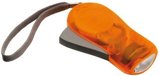 Knijpkat zaklamp oranje