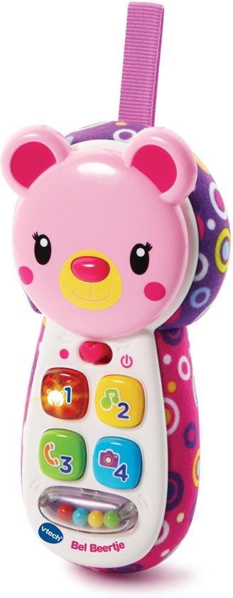 Afbeelding van VTech Baby Bel Beertje Roze - Babytelefoon speelgoed