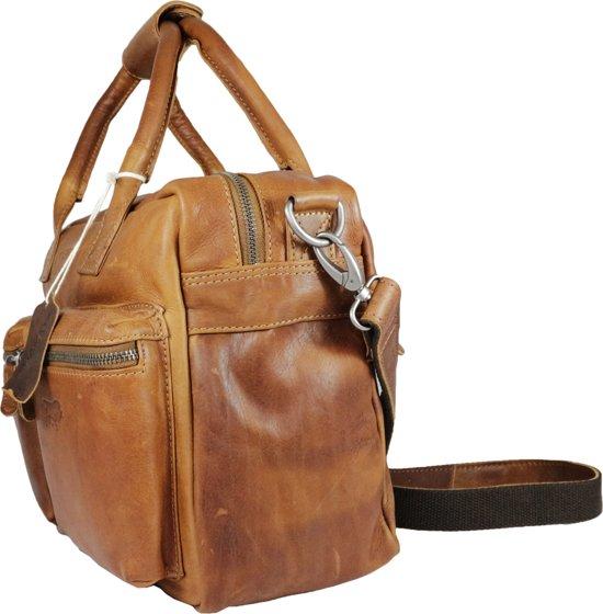 Cognac Large Western Bag Schoudertas Leren wqxFfCUxt