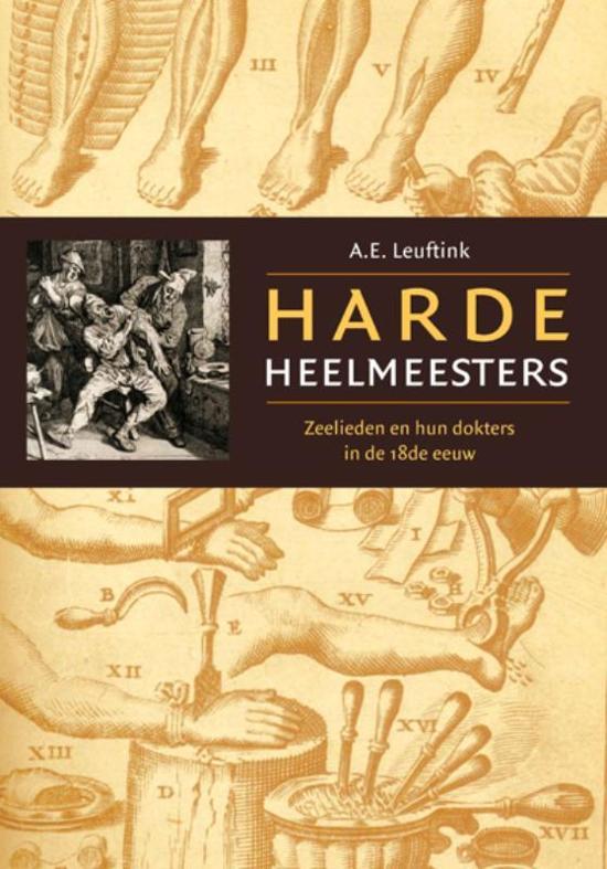 Cover van het boek 'Harde heelmeesters' van A.E. Leuftink