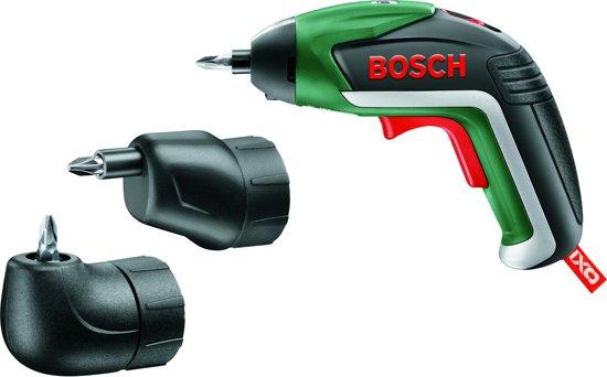 Bosch IXO V Plus accu schroefmachine - Met 3,6V Li-Ion accu - Incl. 10 bits, haaks- en excenteropzetstuk en micro-USB-lader