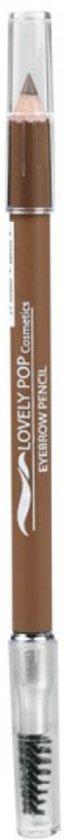 Lovely Pop Cosmetics - Wenkbrauwpotlood met borsteltje - blond  - 21101