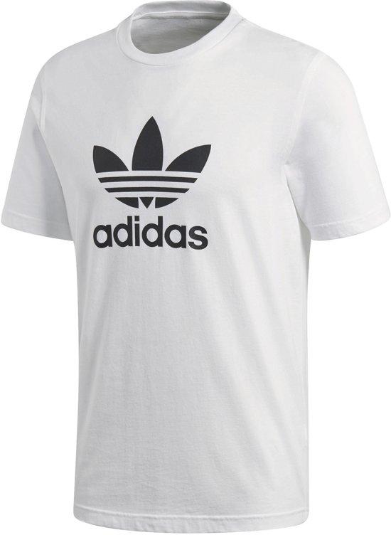 2cabe4f485e bol.com | adidas Trefoil T-Shirt Originals Sportshirt Heren - White