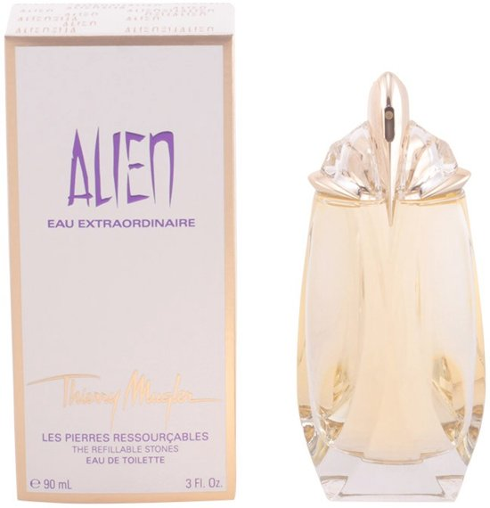 thierry mugler alien eau extraordinaire refillable 90 ml eau de toilette. Black Bedroom Furniture Sets. Home Design Ideas
