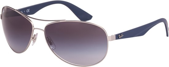 0ee4b5b61029e6 Ray-Ban RB3526 019 8G - Active - zonnebril - Zilver-Blauw