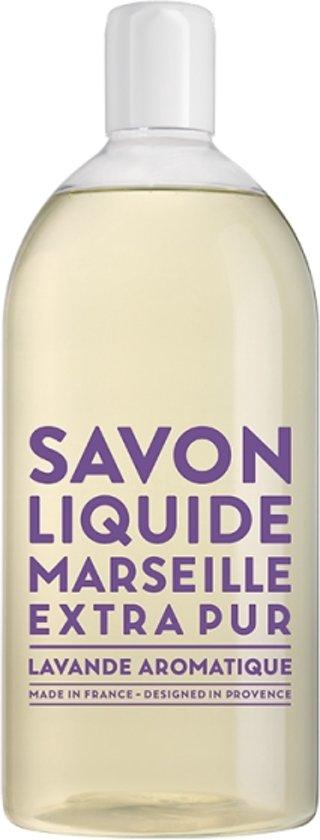 Savon de Marseille vloeibare handzeep Extra Pur Lavande Aromatique 1 liter navulling