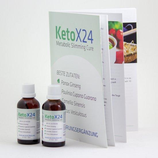 KetoX24 Weekmenu Gebruiksaanwijzing Afslankdruppels