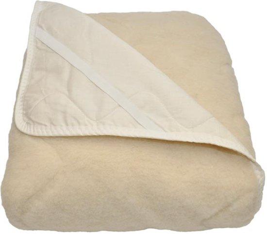 Texels Comfort Wol Onderdeken - 100% Wol - Eenpersoons - 90x200 cm