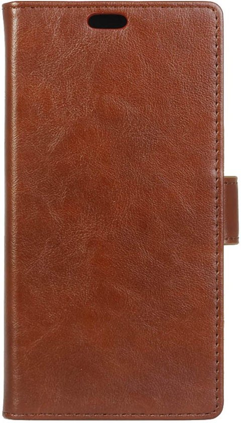 Shop4 - Lenovo Vibe K5 Hoesje - Wallet Case Cabello Bruin in Wassinkbrink