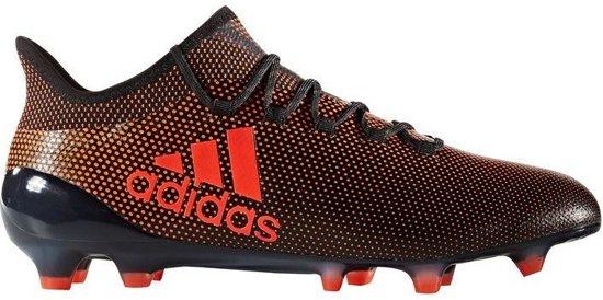 fe5bf882eab bol.com | Adidas X 17.1 Fg Voetbalschoenen Junior Oranje-zwart Maat 30