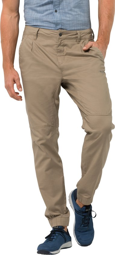 Jack Wolfskin Sand M Lake Dune Heren Pants Cuffed Blue Outdoorbroek rrdawq6