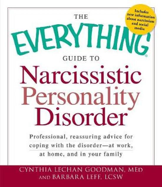 Bol The Everything Guide To Narcissistic Personality Disorder