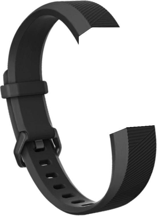 SVH Company Siliconen bandje - Fitbit Alta (HR) - Zwart - Small
