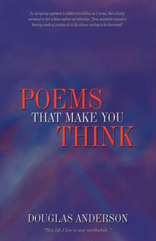 Bolcom Poems To Make You Think 9781450205092 Anderson Doug