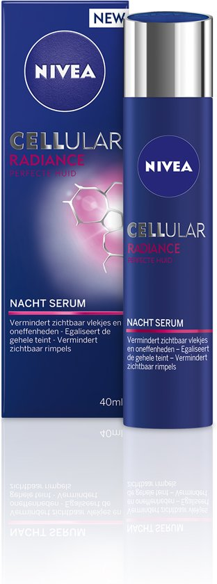 NIVEA CELLular Radiance Nacht Serum Nachtcrème - 40 ml