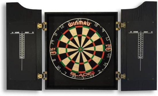 Dartbord In Kast : Bol dutch darts luxe kabinet dutch darts speelgoed